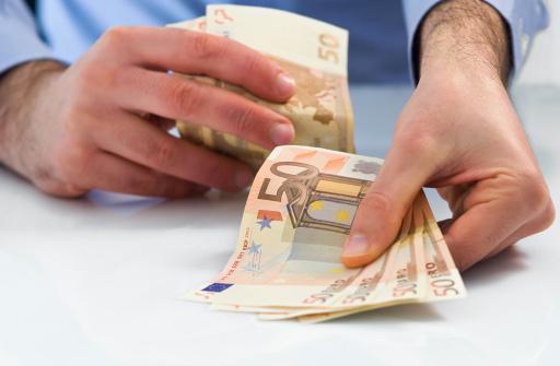 Bar sofort 450 Euro heute mehr Geld