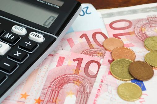 Bargeld sofort 750 Euro ausgezahlt